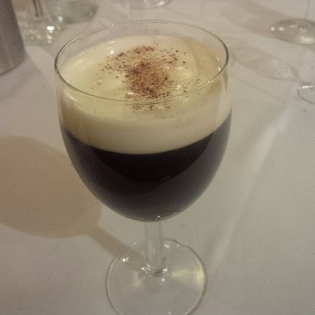 Foley's Townhouse and Restaurant: Irish coffee