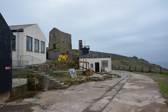 Pendeen, UK: The Levant mine near the engine house