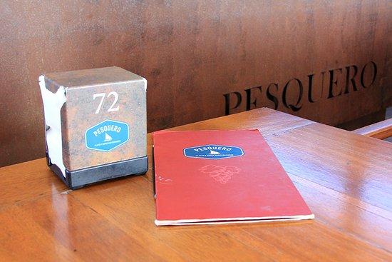 Pesquero Restaurant: Interior