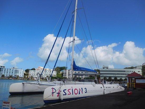 Excursions Passion Catamaran: Le gâteau