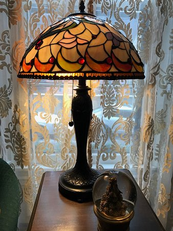 Loved all of the beautiful antiques in our suite/apartment at the Times House, Jim Thorpe, PA