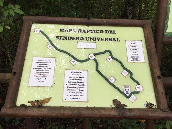 Reserva Biologica Carara: the trail map