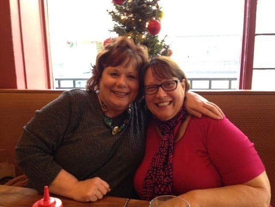 Brookneal, VA: Met author, Shelley Ramsey, at the Drug Store Grill