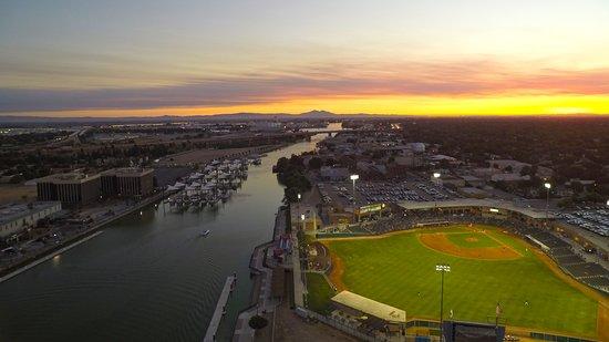 Stockton, CA: Downtown Sunset