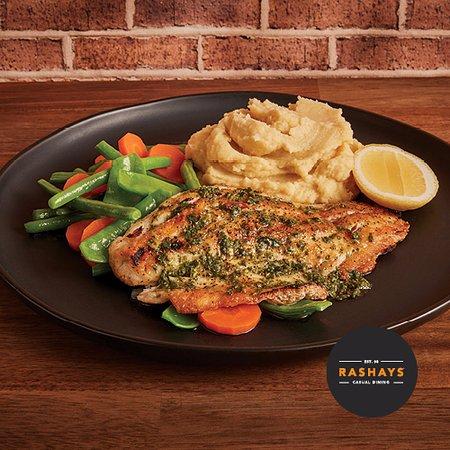 Narellan, أستراليا: Grilled Barramundi 