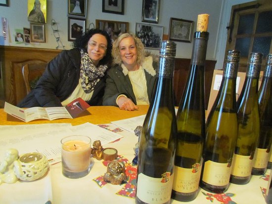 Кинтцхайм, Франция: A fabulous experience not to be missed. Lovely people with real passion for their wine.