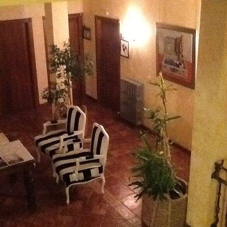 Abalos, Spagna: Zonas comunes, salón primer piso