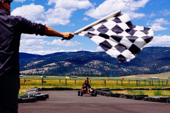 Greenough, มอนแทนา: Go Kart Track