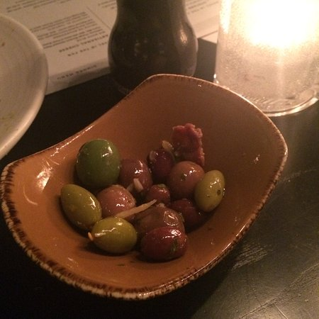 Danville, CA: Marinated Olives