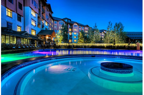 The Steamboat Grand: Year round heated swimming pool and hot tubs