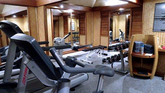 Fitness Center Picture Of Intercontinental Moorea Resort