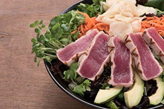Dublin, Kalifornia: Ahi Tuna Salad