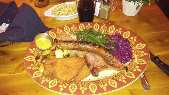 Blaine, WA: The Bavarian Plate