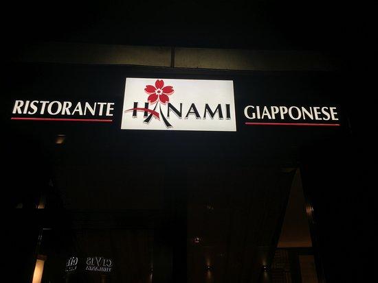 Hanami : insegna esterna