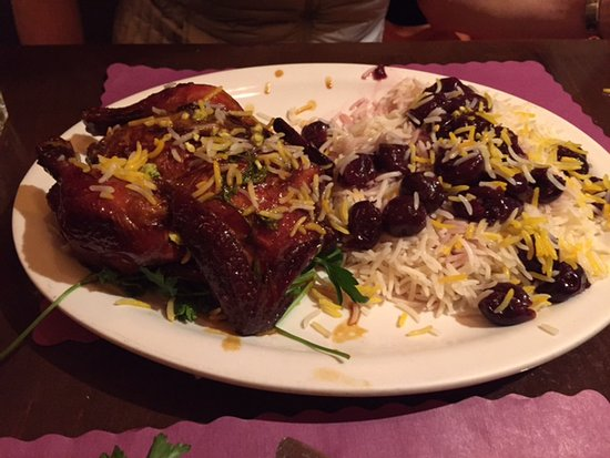 Persian Grill: Albaloo Polo