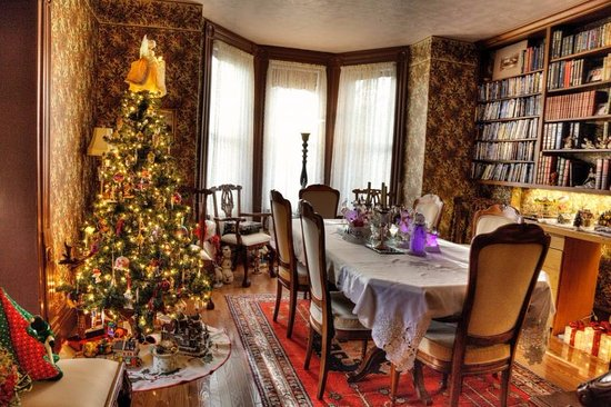 Seaforth, Canadá: The Dining Room at Christmas