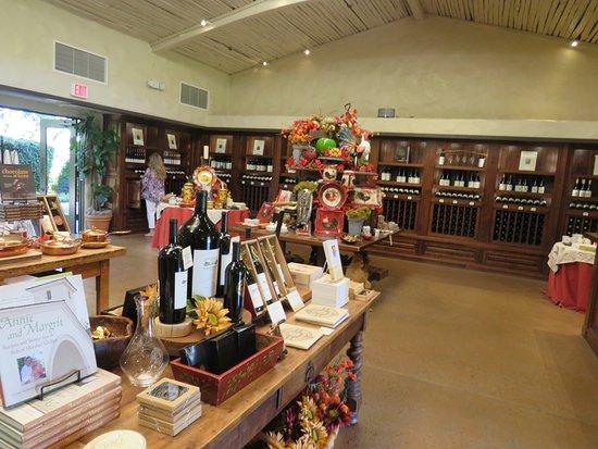 Oakville, Califórnia: Tienda de Mondavi Winery