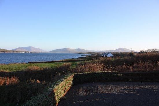 Portmagee, Ireland: View from the back door