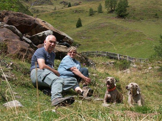 Innervillgraten, Austria: Erholung am Berg