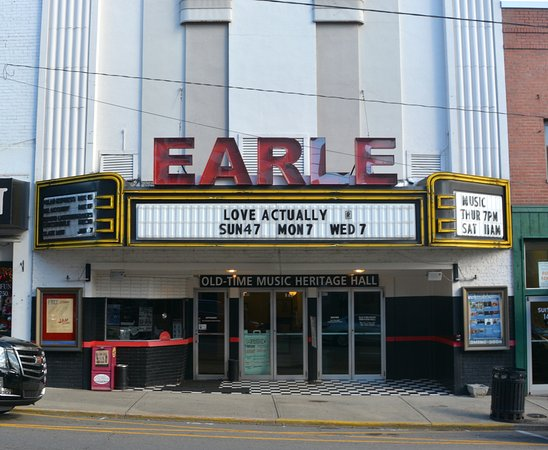 The Historic Earle Theatre