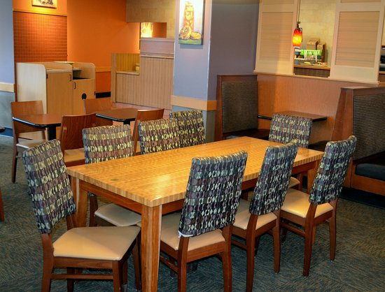 Panera Bread: Table and chairs