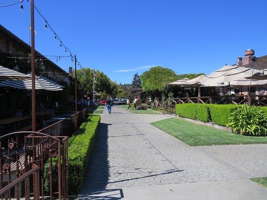 Yountville, Kalifornia: Un lugar tranquilo y agradable para un rato de descanso