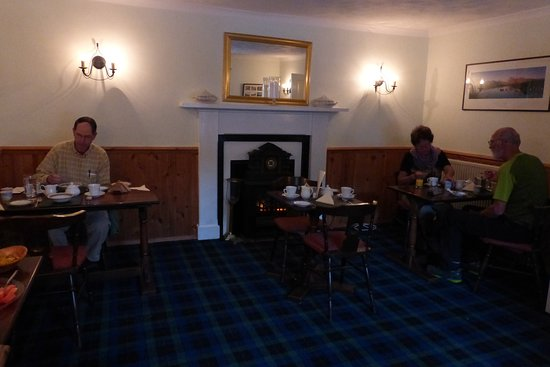 Inveroran Hotel : Cozy dining room
