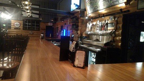 Broadalbin, نيويورك: Bar area