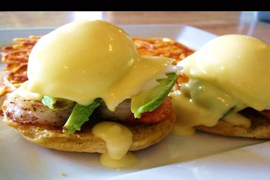Norm's Eggs Cafe is Now Norm's Diner : We have the Best Benedicts in town, featuring the Shrimp and Avocado Benedict.