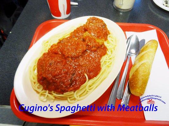 Cugino's Italian Deli: Cugino's Spaghetti with Meatballs