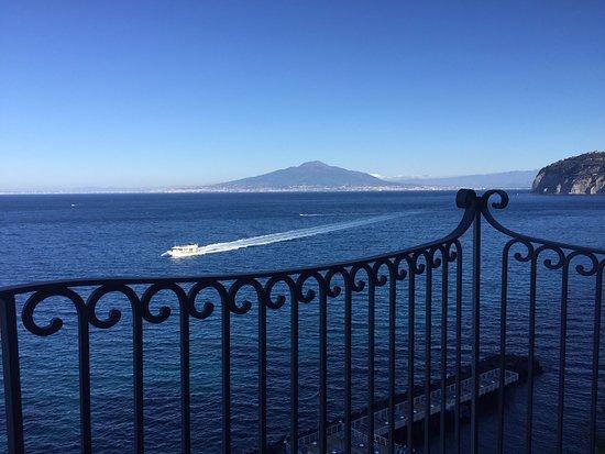 Grand Hotel Ambasciatori: Our balcony on a perfect day