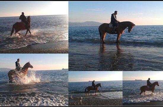 Horse Riding on Kalamata beach