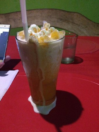 Mamburao, Philippines: Orange twist! that is a hard twist isn't it... Lovely thirst quencher