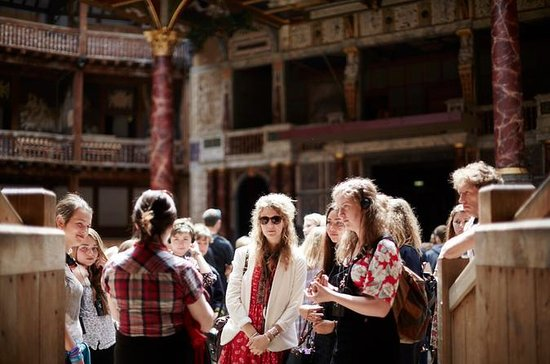 Excursion au Shakespeare's Globe...