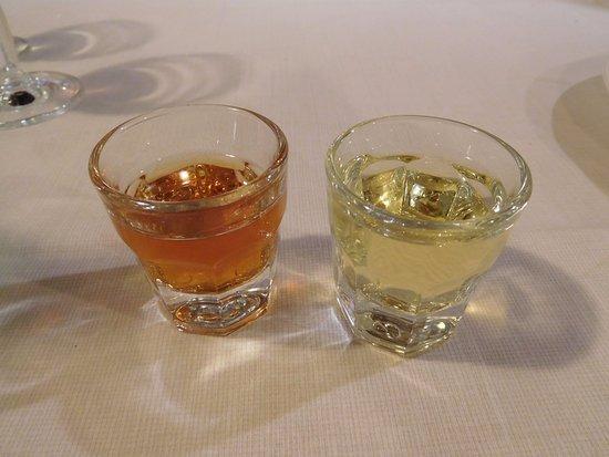 Sant'Alfio, Italia: 食後酒