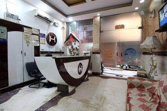 Hotel Hridey Inn: RECIEPTION