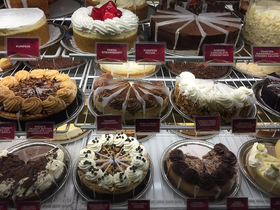 The Cheesecake Factory: Many Cheesecakes and Desserts