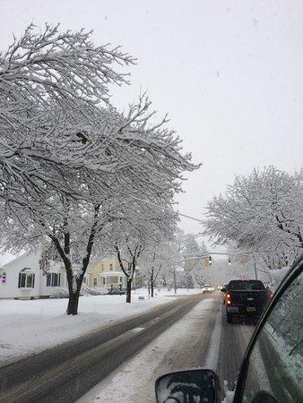 Shelburne, VT: in snow