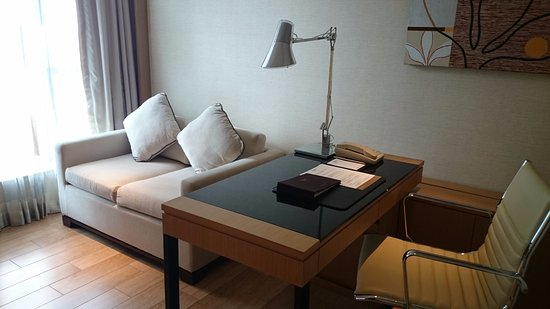 Study room with sofa bed - Picture of The HarbourView Place, Hong ...