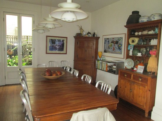 TARA Guest House: Communal Dining Room