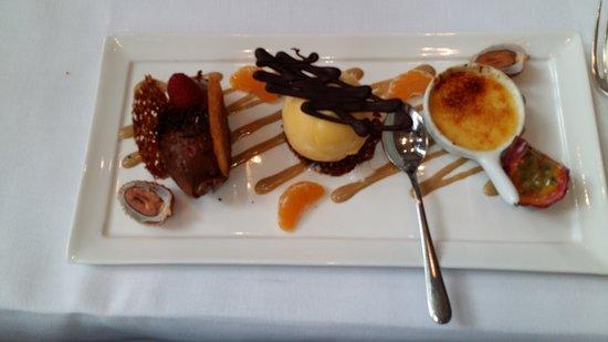 De Florentijnen: Lekker dessertbord lunchmenu