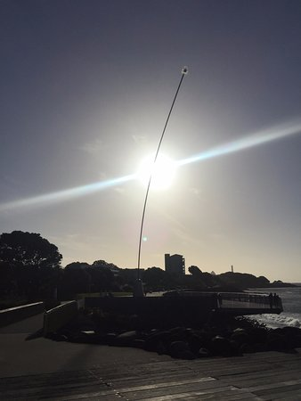New Plymouth, Nueva Zelanda: Walkway wind wand