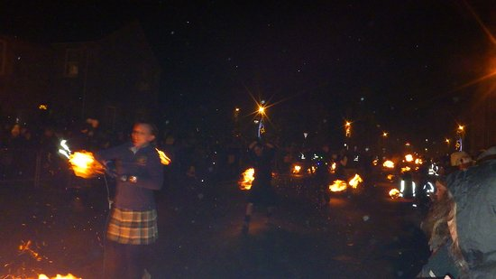 Stonehaven, UK: Fireballs