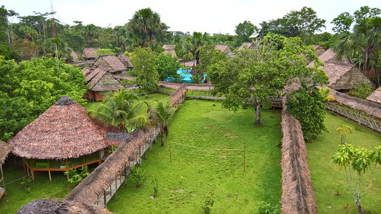 Amazon Rainforest Lodge Bild