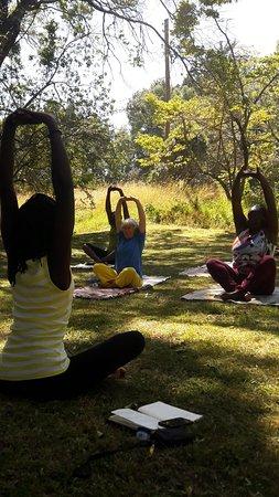 Elagerini Camp: In House Yoga!!!!!!