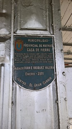 Casa de Fierro: Targa