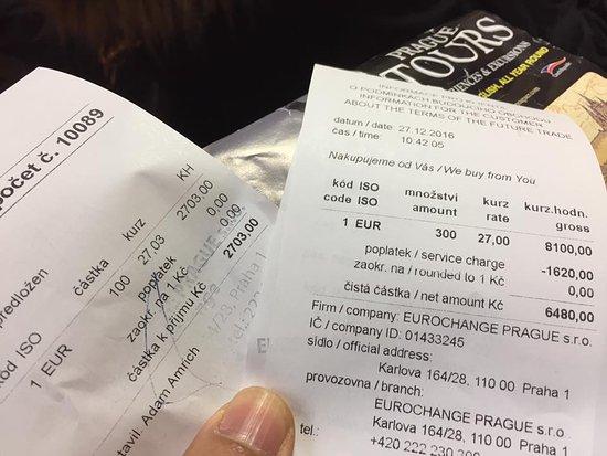 Prague Information Service : Cheating money from tourist, what a shameeeeeeeee.