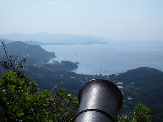 Anthousa, Greece: canon and view