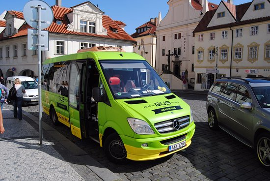 Prague Bus Tours - during the tour