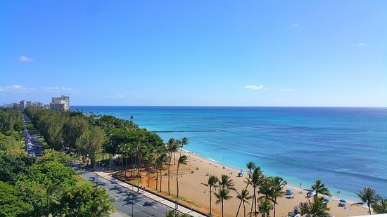 Park Shore Waikiki: A couple of photos from my trip a few months back. Cannot complain about the view from our room.